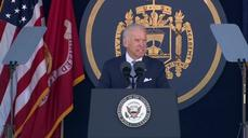 Biden delivers commencement at U.S. Naval Academy