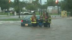 Severe Storms Dump Rain, Flood City Streets in Oklahoma