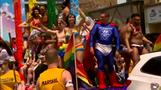 U.S. Gay Pride day gets extra sparkle