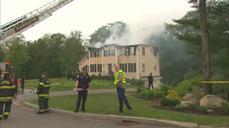 Small plane crash kills three in Massachusetts home