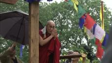 Dalai Lama makes a historic appearance at Glastonbury