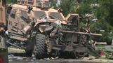 NATO convoy in Kabul hit by car bomb