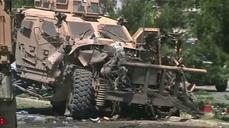 NATO convoy in Kabul hit by car bomb