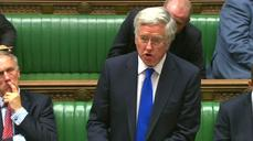 UK Defence chief calls for air strikes on IS in Syria