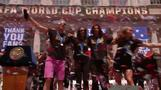 Women's World Cup champs given keys to NYC