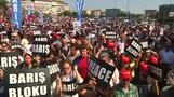 Pro-Kurdish rally denounces Suruc bomb attack