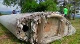 不明のマレーシア機か、インド洋の島に残骸(字幕・30日)