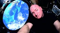 "Astronaut Scott Kelly: ""I'm feeling great"""