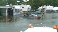 Heavy flooding forces evacuations in Florida