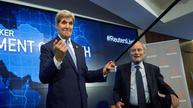 John Kerry leans on a Kennedy heirloom
