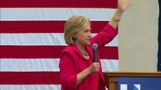 """Clinton: Not going to """"sit around while good people die"""""""
