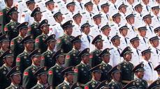 China puts on huge show of force at par