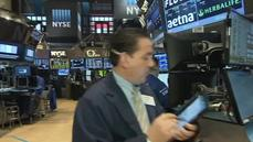 U.S. stocks end lower on mixed
