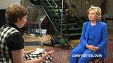Lena Dunham talks student loans with Hillary Clinton