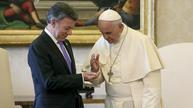 Colombian president: 'Pope prayed for me' during peace talks