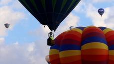 Hot air balloon festival in New Mexico takes flight