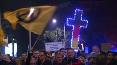 PEGIDA holds Dresden anti-immigration rally