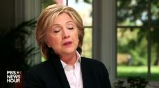 Clinton says she does not support new Pacific trade pact