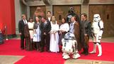 Force awakens for bride and groom