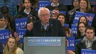 Sanders says good turnout will win him New Hampshire