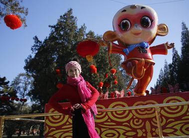 Cheeky Monkey sets Chinese New Year tone