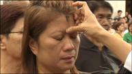 Filipino Catholics marked with ash on Ash Wednesday