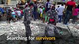Shaken Ecuador hunts for survivors amid quake debris