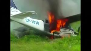 Peru shoots down drugs plane