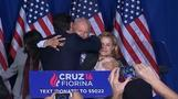 Cruz accidentally elbows wife in face