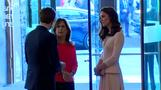 Duchess of Cambridge views Vogue cover art exhibition