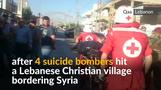 Lebanese Christian village rocked by suicide bombs