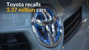 Toyota says to recall 3.37 million cars
