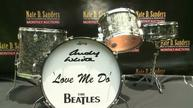An early Beatles drum set hits the auction block