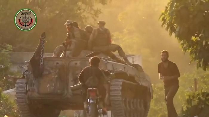 Syrian rebels retake key town in western coastal province