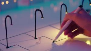 Japanese pen draws circuits with conductive ink