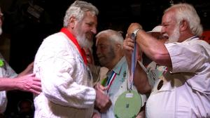 Lookalikes compete in Hemingway contest