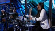 Sheila E delivers the beat for Clinton