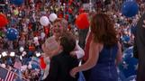 DNC floods with balloons to close out convention