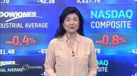 NY株反落、医薬品マイランの下げきつく(24日)