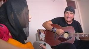 American guitarist uses music as healing force in Kabul