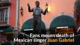 Fans in Mexico mourn death of musical icon Juan Gabriel