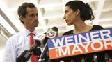 Abedin leaves scandal-plagued husband, Weiner