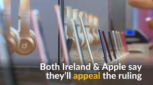 EU rules Apple to pay Ireland $14.5 bln in tax