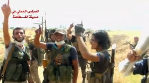 Syrian rebels make gains in north, capture strategic town