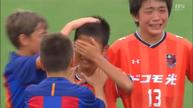 Barcelona youth soccer team consoles Japanese opponents