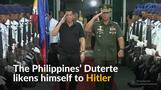 Philippines president likens himself to Hitler