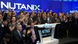 Nutanix soars on debut
