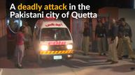 At least 59 dead in attack on Pakistani police academy