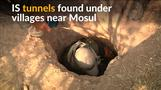 Islamic State tunnels found beneath villages near Mosul