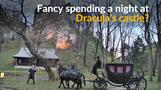 Spending a night at Dracula's castle